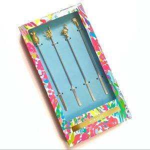 Lilly Pulitzer Stir It Up Cocktail Stirrers